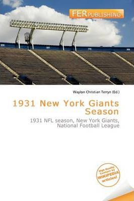 1931 New York Giants Season