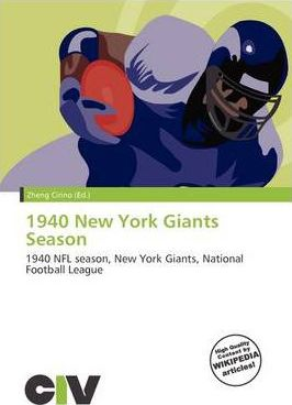 1940 New York Giants Season