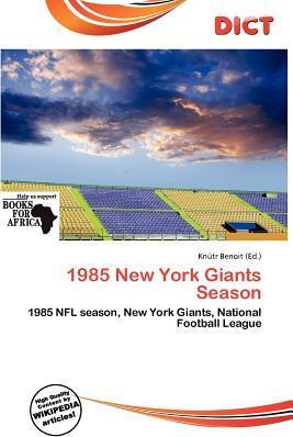 1985 New York Giants Season