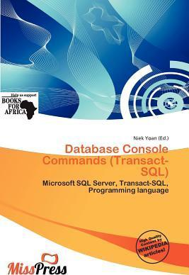 Database Console Commands (Transact-SQL)