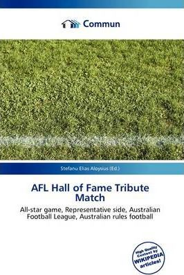 Afl Hall of Fame Tribute Match