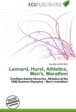 Leonard, Hurst, Athletics, Men's, Marathon