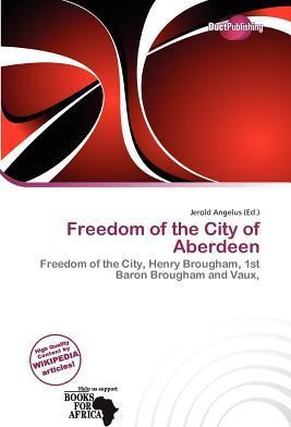 Freedom of the City of Aberdeen