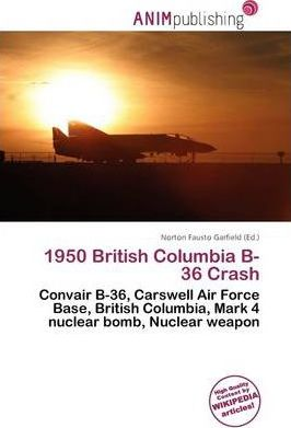 1950 British Columbia B-36 Crash