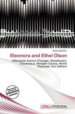 Eleonora and Ethel Olson