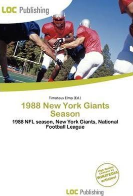 1988 New York Giants Season