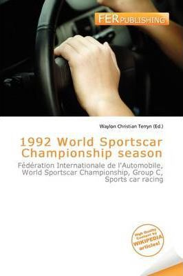 1992 World Sportscar Championship Season