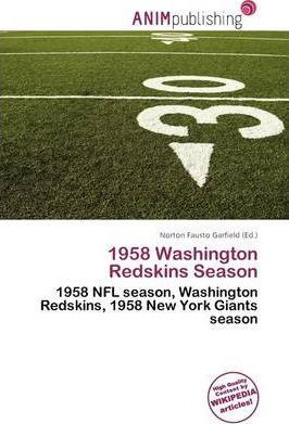 1958 Washington Redskins Season