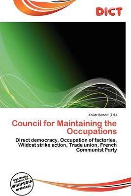 Council for Maintaining the Occupations