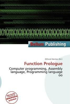 Function Prologue