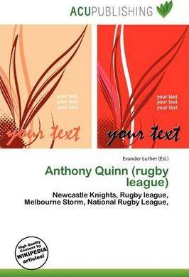 Anthony Quinn (Rugby League)