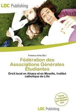 F D Ration Des Associations G N Rales Tudiantes