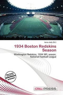 1934 Boston Redskins Season