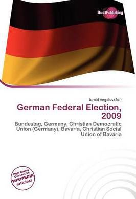 German Federal Election, 2009