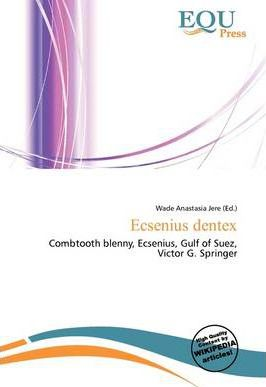Ecsenius Dentex