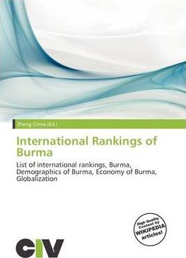International Rankings of Burma