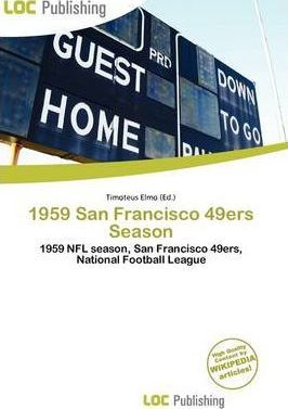 1959 San Francisco 49ers Season