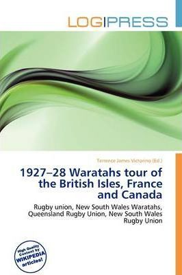 1927-28 Waratahs Tour of the British Isles, France and Canada