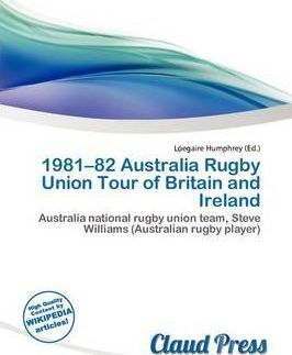1981-82 Australia Rugby Union Tour of Britain and Ireland