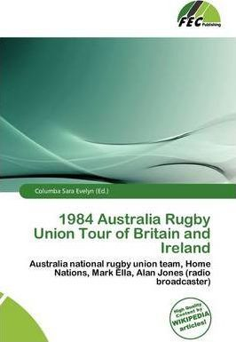 1984 Australia Rugby Union Tour of Britain and Ireland