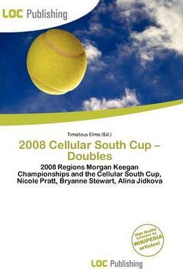 2008 Cellular South Cup - Doubles