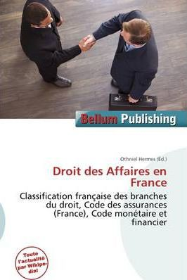 Droit Des Affaires En France