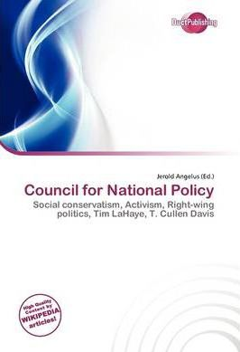 Council for National Policy