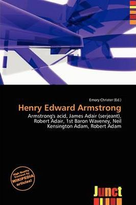 Henry Edward Armstrong