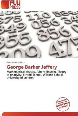 George Barker Jeffery