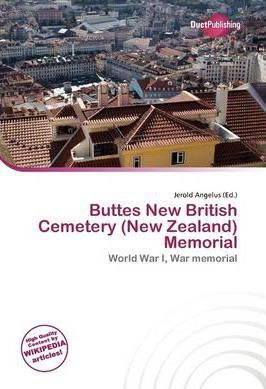 Buttes New British Cemetery (New Zealand) Memorial