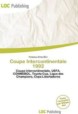 Coupe Intercontinentale 1992