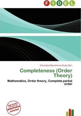 Completeness (Order Theory)