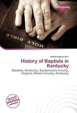 History of Baptists in Kentucky