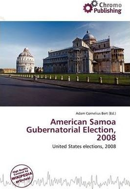 American Samoa Gubernatorial Election, 2008