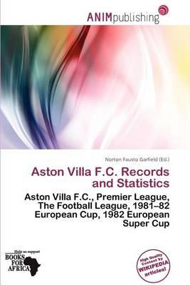 Aston Villa F.C. Records and Statistics