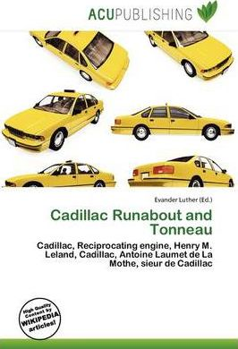 Cadillac Runabout and Tonneau