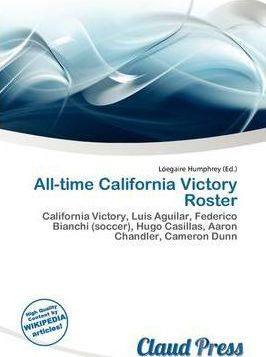 All-Time California Victory Roster
