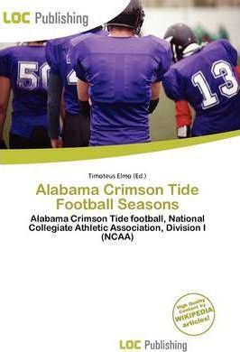 Alabama Crimson Tide Football Seasons