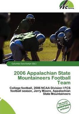 2006 Appalachian State Mountaineers Football Team