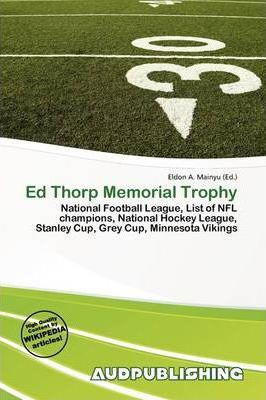 Ed Thorp Memorial Trophy