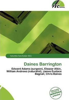 Daines Barrington