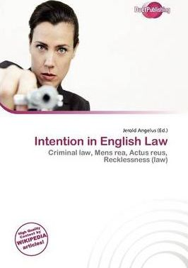 Intention in English Law