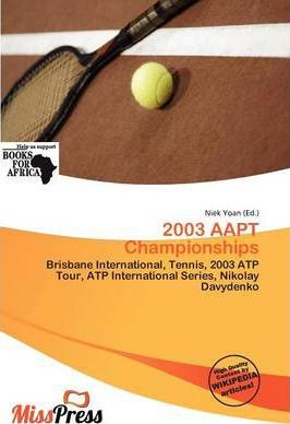 2003 Aapt Championships