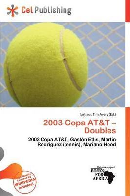 2003 Copa AT&T - Doubles
