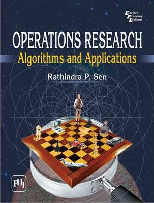 Operations Research Algorithms and Applications