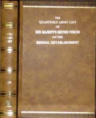 Quarterly Army List of Her Majesty's British and Indian Forces