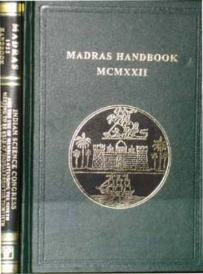 Indian Science Congress - Madras 1922 Hand Book