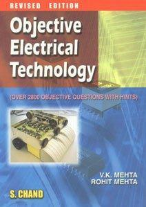 Objective Electrical Technology V K Mehta 9788121920971