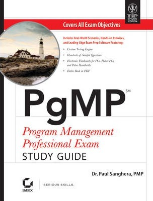 Pgmp Program Management Professional Exam Study Guide (with CD)