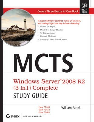 Mcts Windows Server 2008 R2 (3 in 1) Complete Study Guide